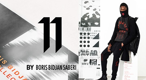 11 BY BORIS BIDJAN SABERI 18-19aw collection