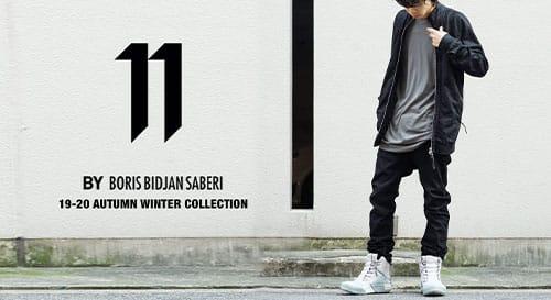 11 BY BORIS BIDJAN SABERI 2019-20AW Collection