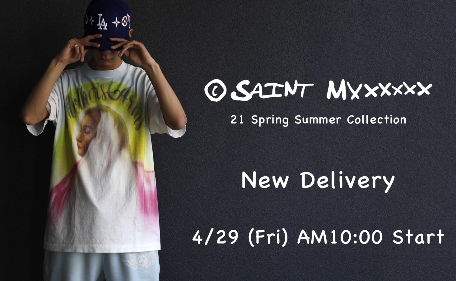 SAINT M×××××× 21SS - It will be on sale from 10 o'clock (Japan time) on April 29!!