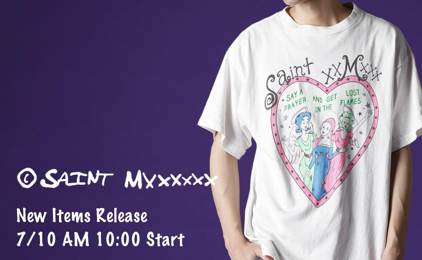 SAINT M××××××(セントマイケル) 2021-21AWコレクション 1st Drop Item 7/10(土) 正午10時より販売開始!
