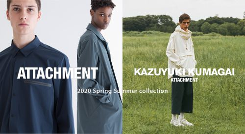 ATTACHMENT / KAZUYUKI KUMAGAI 2020SS Collection