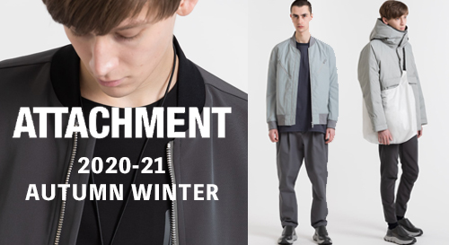 ATTACHMENT 2020-21AW collection