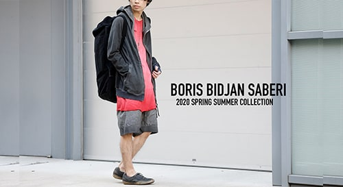 BORIS BIDJAN SABERI 2020SS Collection