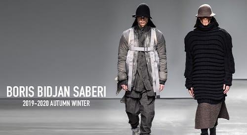 Boris Bidjan Saberi 2019-20AW Collection