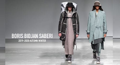 BORIS BIDJAN SABERI 2019-20AW Collection