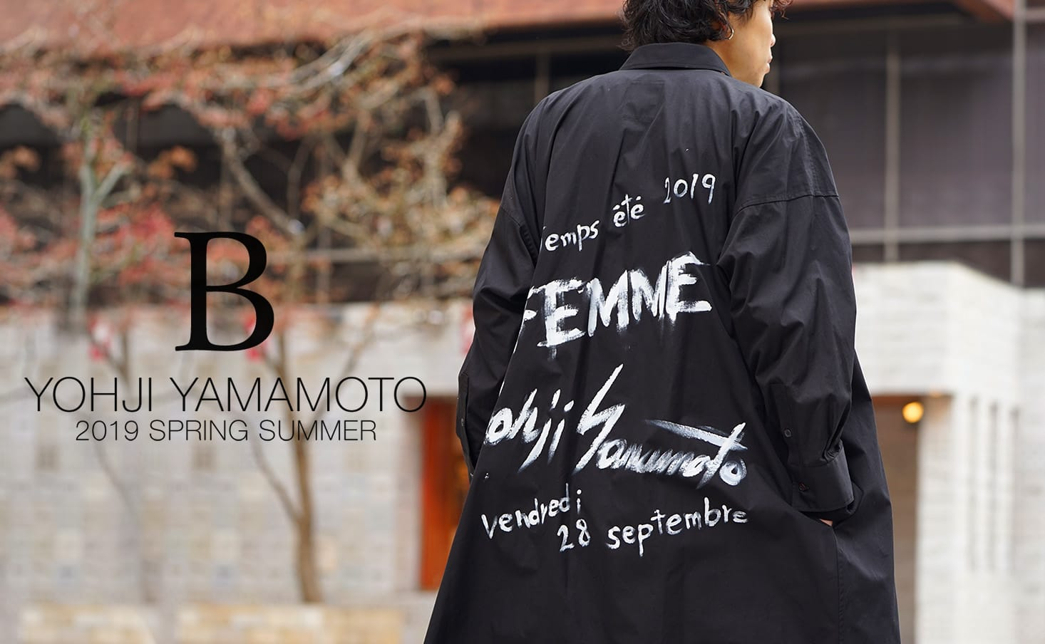 B Yohji Yamamoto(ビーヨウジヤマモト)2019SS(春夏) コレクション