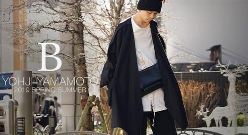 B Yohji Yamamoto 2019 Spring Summer Collection
