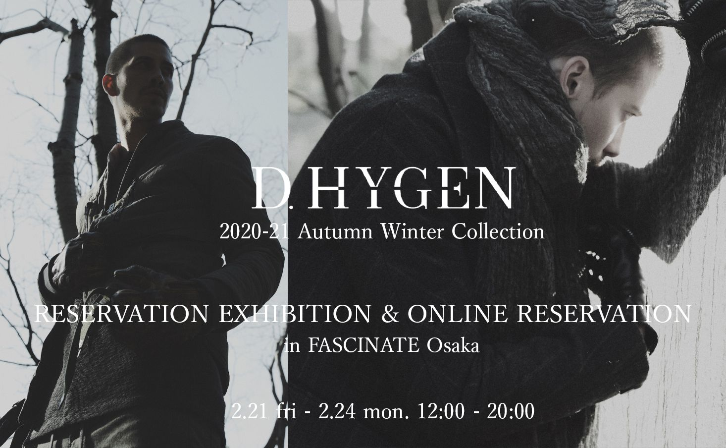 D.HYGEN [SADDAM TEISSY] 20-21AW Collection