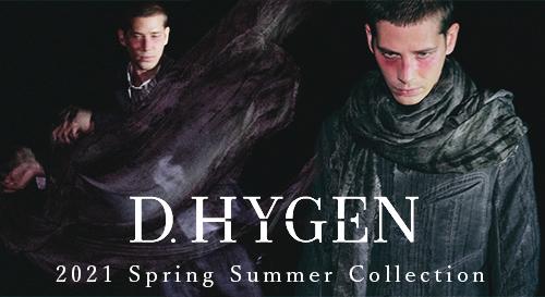 D.HYGEN(ディーハイゲン) 2021SS(春夏)コレクション