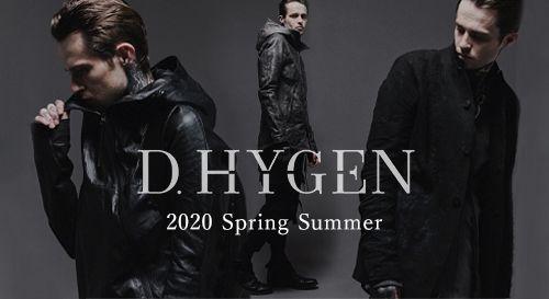 D.HYGEN [SADDAM TEISSY] 2020SS(春夏) コレクション