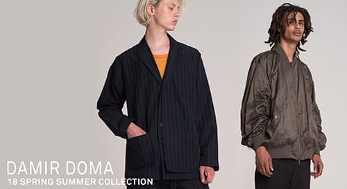 DAMIR DOMA 2018SS collection
