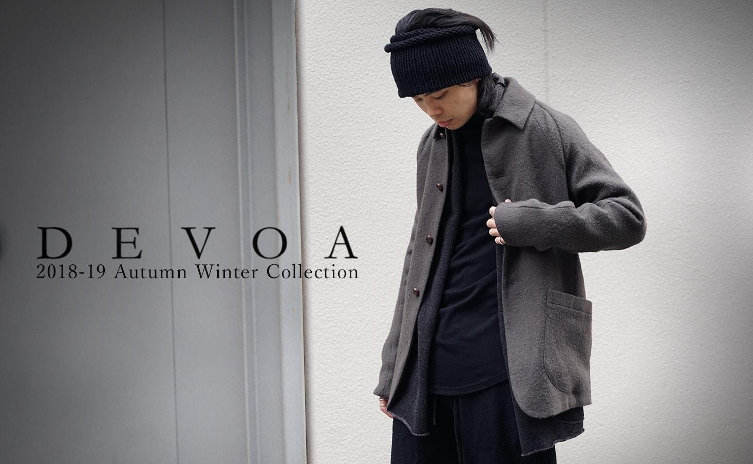 DEVOA 18AW collection