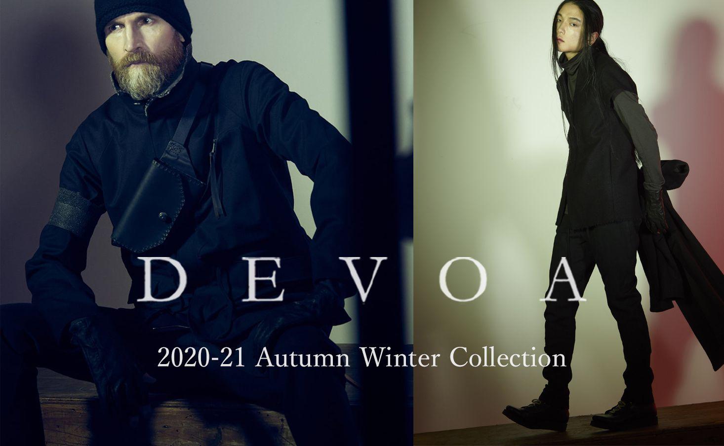 DEVOA 2020-21AW collection