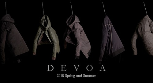 devoa 2018SS collection