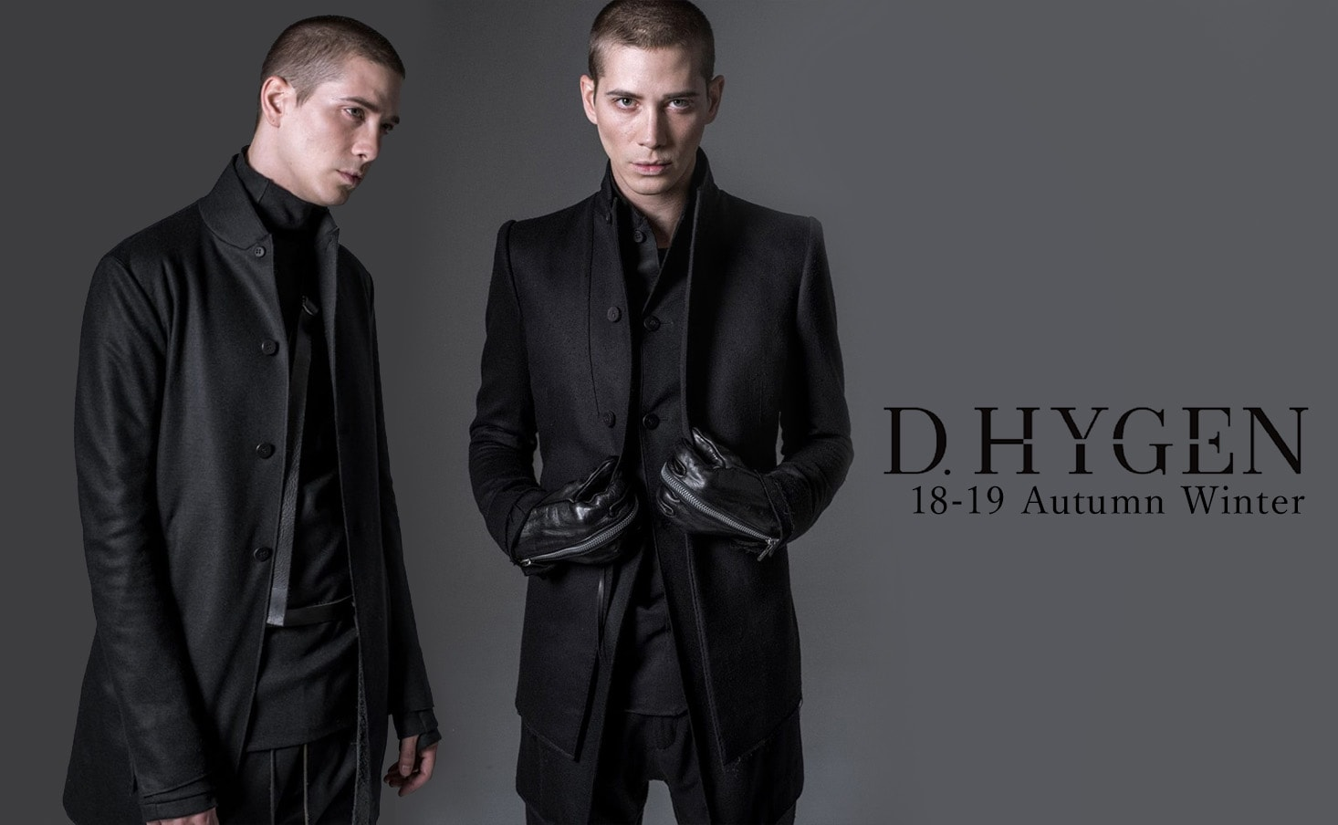 D.hygen [SADDAM TEISSY] 18-19 aw collection
