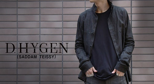 D.hygen [SADDAM TEISSY] 18-19AW  collection