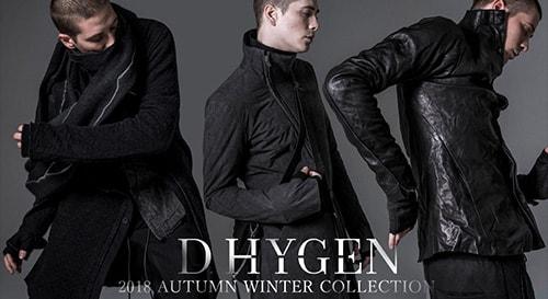 D.HYGEN 2018-19AW collection