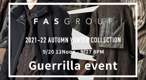 Guerrilla Event Outer item point return UP fair event!