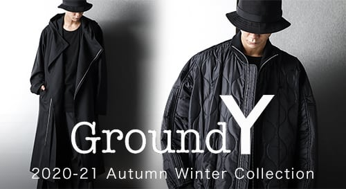 Ground Y 2020-21AW collection