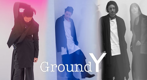 GROUND Y 2018SS collection
