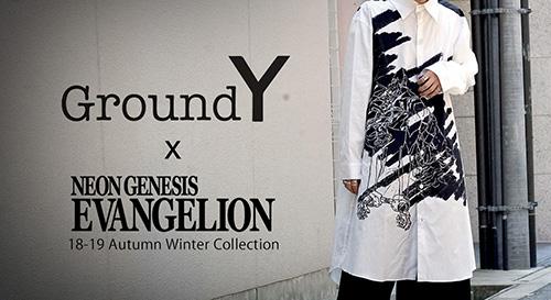ground y x evangelion collaboration collection