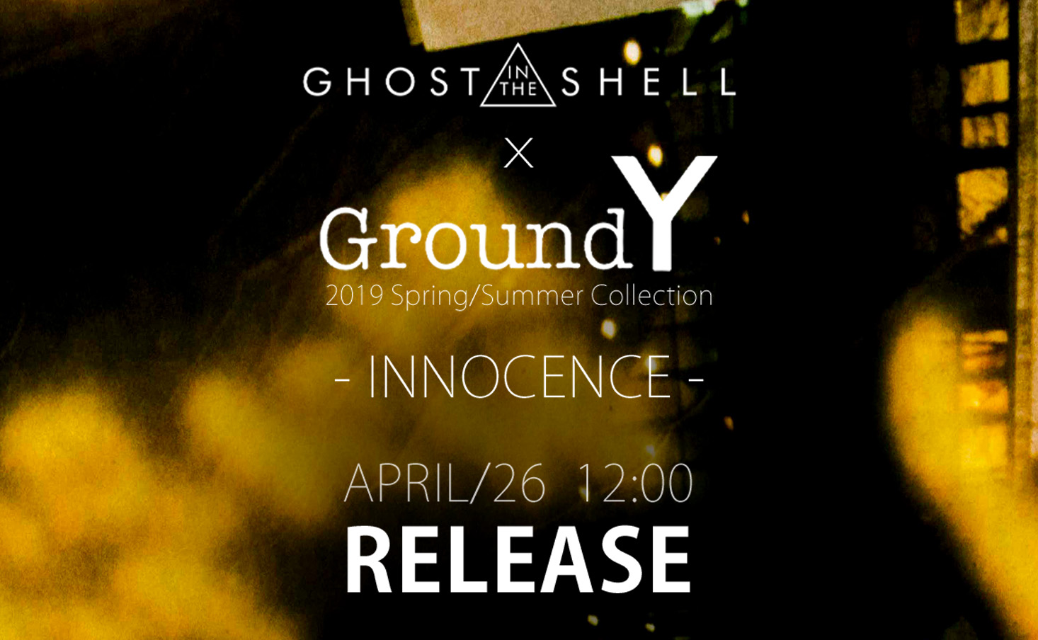 Ground Y × INNOCENCE collaboration 1-001