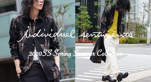individual sentiments 2020SS Collection