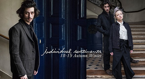 individual sentiments 18-19AW collection