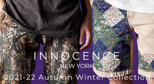 INNOCENCE NY(イノセンス ニューヨーク) 2021-22 AW(秋冬)コレクション