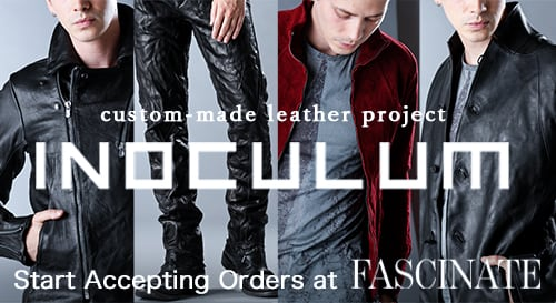 INOCULUM Leather Order made Collection