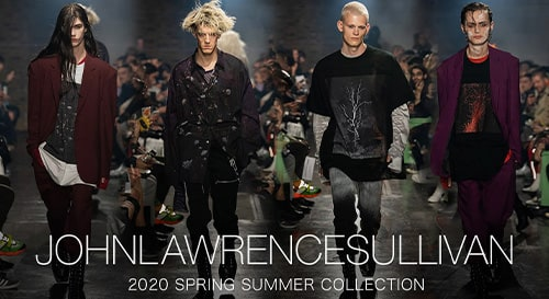 JOHN LAWRENCE SULLIVAN  2020SS collection