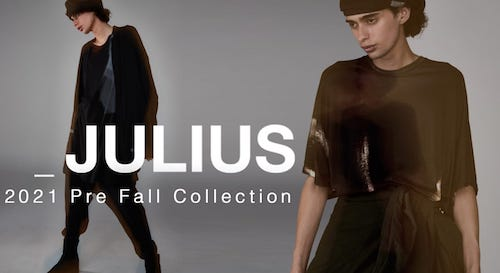 JULIUS 2021SS collection