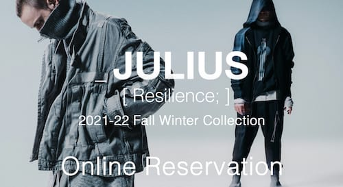 JULIUS 2021-22 AUTUMN WINTER Collection