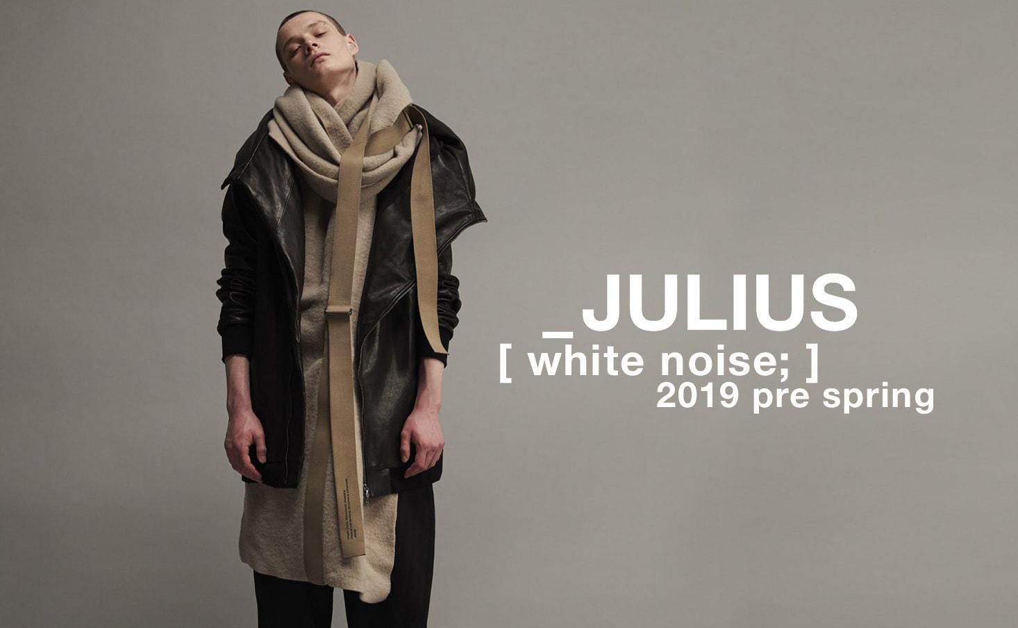 julius 19 Pre spring collection