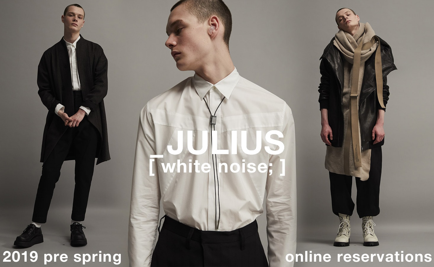 JULIUS 2019PS collection Reservation