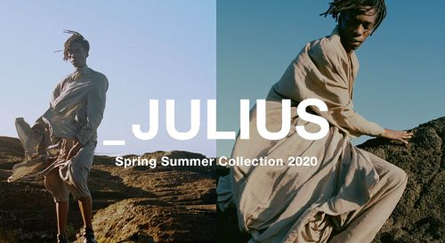 JULIUS 2020SS Collection