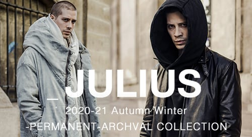 JULIUS 2020-21AW collection