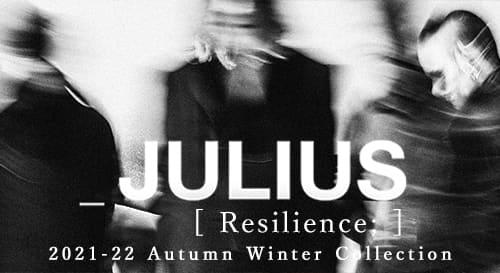 JULIUS(ユリウス) 2021-22AW(秋冬)コレクション