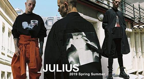 JULIUS 2019 Spring Summer Collection