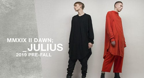JULIUS 2019SS Collection