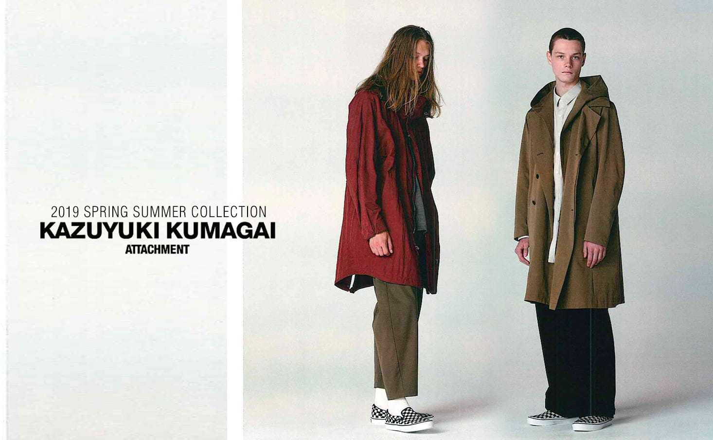 Kazuyuki Kumagai 2019 Spring Summer Collection