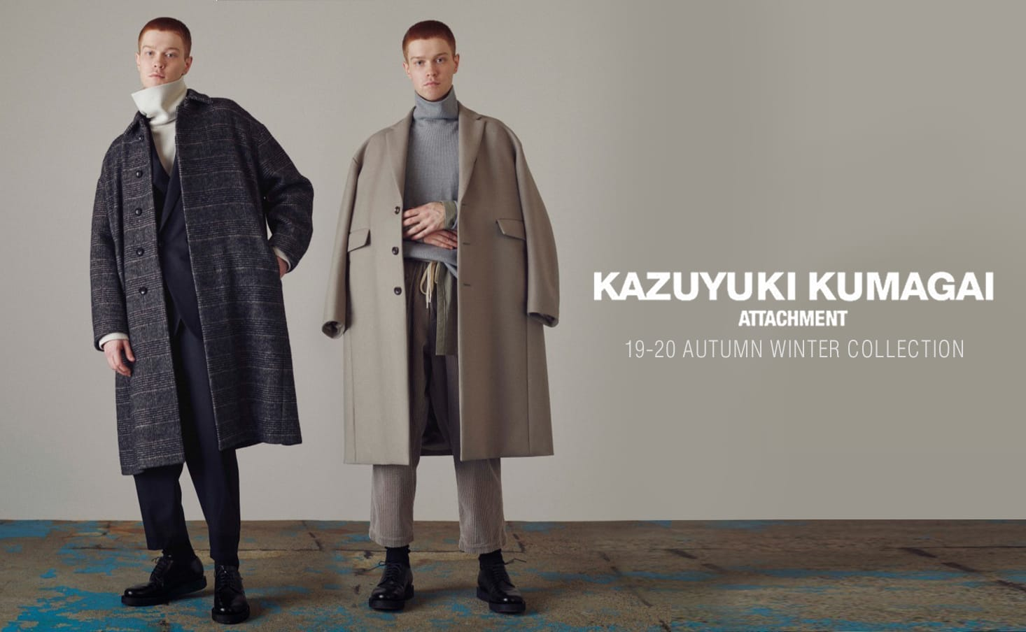 KAZUYUKI KUMAGAI 2019-20AW Collection