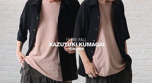 KAZUYUKI KUMAGAI 2019 Spring Summer Collection