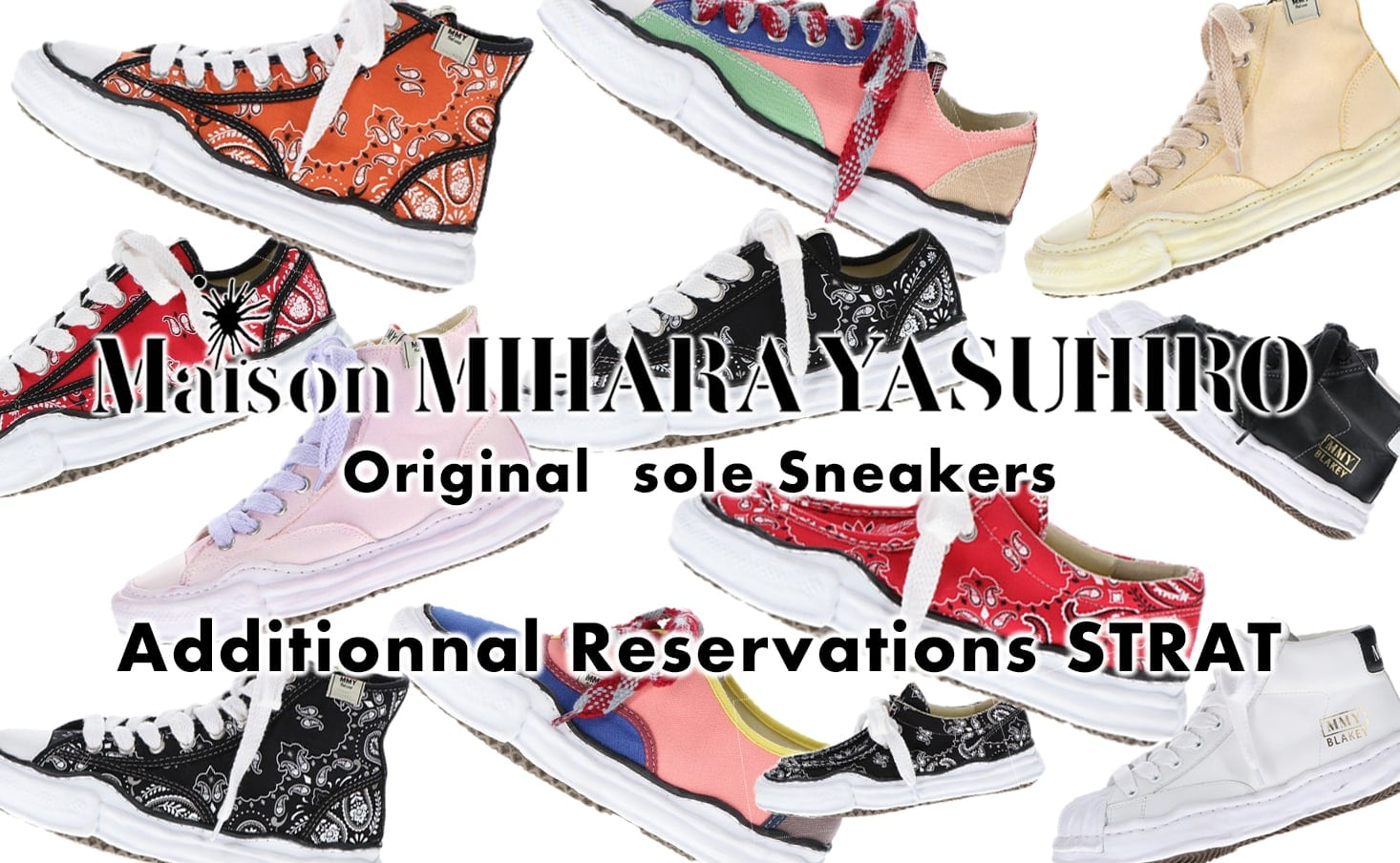 Maison MIHARAYASUHIRO 2021SS Collection Online Reservation Start