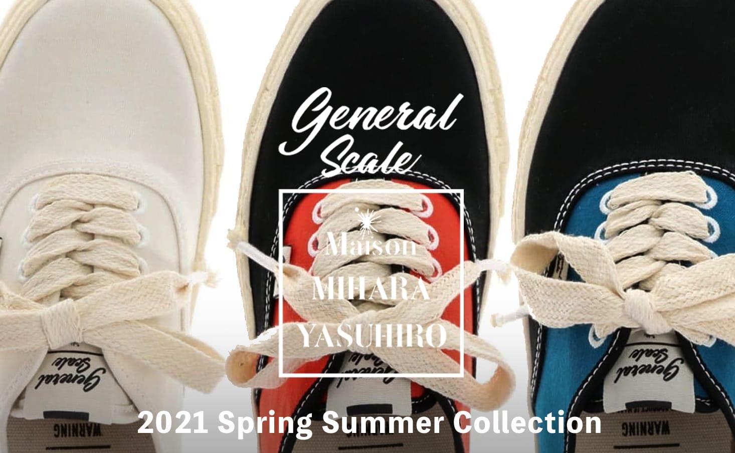 Maison MIHARAYASUHIRO(メゾン ミハラヤスヒロ)2021SS(春夏)コレクション