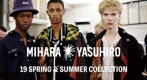 MIHARA YASUHIRO 2019 Spring Summer Collection