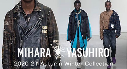 Maison MIHARAYASUHIRO 2020-21AW collection