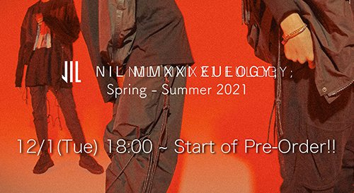 NILøS 2021SS Collection online reservations