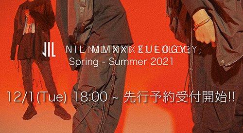 NILøS(ニルズ)2021SS(春夏) コレクション 先行予約ページ