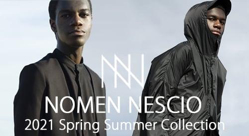 NOMEN NESCIO (ノーメンネスキオ)2021SS(春夏)コレクション